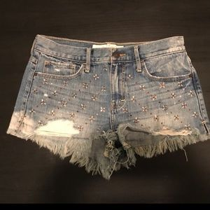 Abercrombie and Fitch denim jean shorts 6 / 28